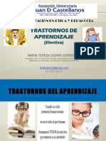 Presentaciòn Trastornos de aprendizaje (JDC)