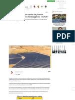 ¿Quiénes son los fabricantes de paneles solares que lideraron ranking global en 2020_ - Energía Estratégica
