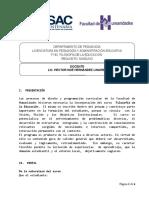 F192  FILOSOFÍA DE LA EDUCACIÓN