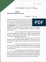 nuevo decreto de armas uruguay