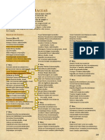 209__Lista de Magias__D&D 5E - Livro do Jogador (Fundo Colorido) - Biblioteca Élfica