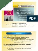 Violencia de género Tratamiento en  prisión Yagüe Olmos C.