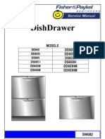 DD603 Fisher Paykel Dishwasher Service Manual