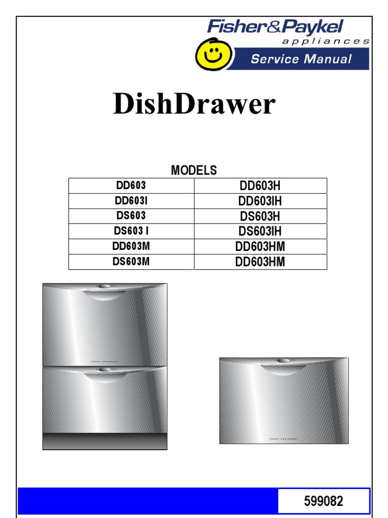 fisher and paykel dishwasher manual