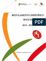 02 - Regulamento Especifico Boccia Desporto Escolar 2013-2016 Nov 08 RE_Boccia_13_17 (Revisto Em Setembro 2016)