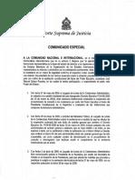 ExpedienteJudicial Honduras