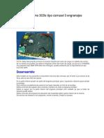 Samsung mecanismo 3CDs tipo carrusel 3 engranajes-76449