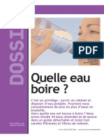 60 Millions De Consommateurs - 200608 - Quelle Eau Boire