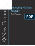 Emerging Markets Strategy