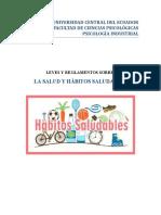 Leyes y Normas de ECUADOR,  sobre salud y habitos saludables.