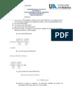 TALLER VARIABLES ALEATORIAS DISCRETAS UNIVERSIDAD DEL ATLANTICO HIPERGEOMETRICO (1)