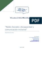 Discapacidad Redes Sociales