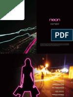 Neon Brochure