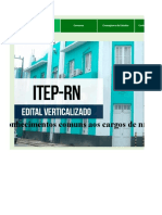 Edital-Verticalizado - ITEP RN - Nível Médio