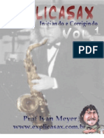 SAXOFONE - MÉTODO - Ivan Meyer_V1
