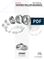 (B2009E-2) Inch Series Tapered Roller Bearing Catalog