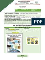 5to - d - Ccnn - Ficha Pedagogica - Semana # 31
