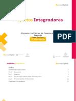 Ficha didáctica - Proyecto Integrador - Segundo grado, febrero