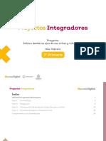 Ficha didáctica - Proyecto Integrador - Tercer grado, febrero