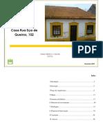Relatório de Inspecção e Diagnóstico rua eça de queiroz 102