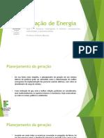Aula 6 – Sistemas interligados e isolados - planejamento centralizado e descentralizado