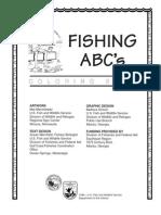 Abecedarul Pescarului Carte de Colorat