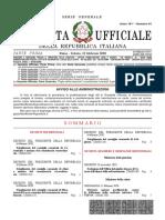 Gazzetta Ufficiale Feb 2020