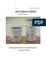 Filtros De Agua Caseros