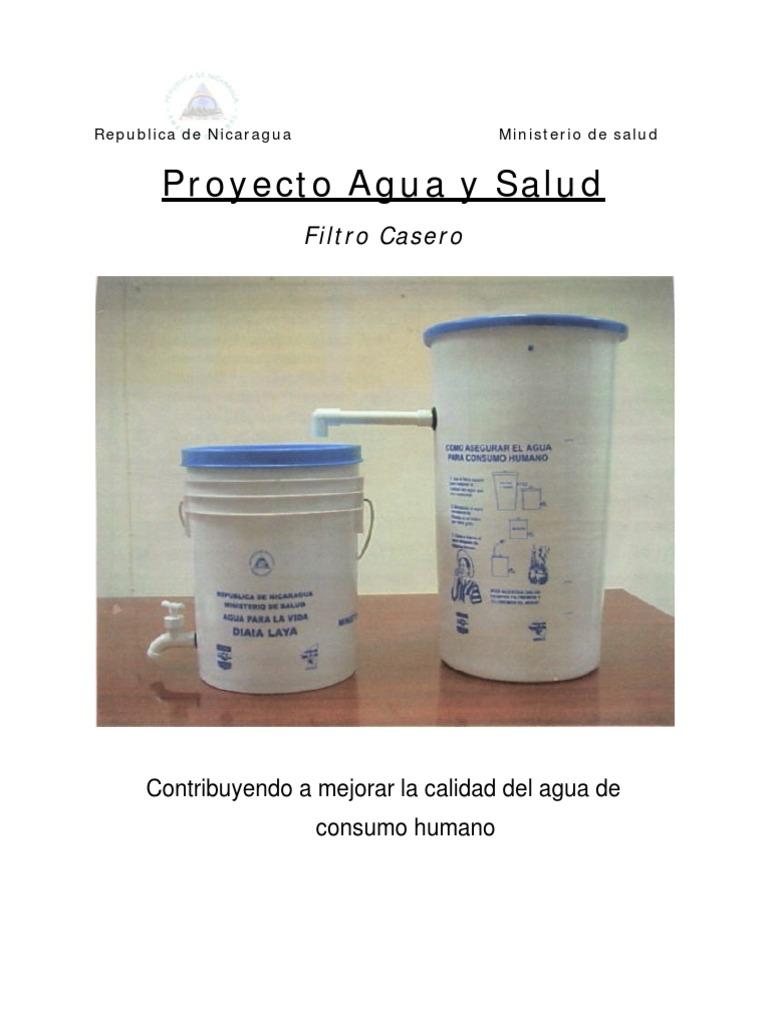 Filtros de agua caseros for Construccion de piletas de agua