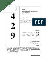 Web Practice Exam 1