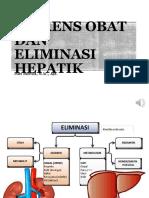 KLIRENS OBAT & ELIMINASI HEPATIK