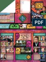 Women of Joy Fall 2011 Brochure
