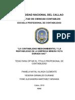 Aliaga Clemente - Grimaldo Durand - Martinez Yaranga Fcc 2019