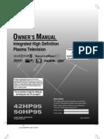 Toshiba 50HP95 manual