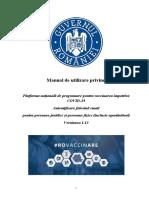 Manual de Utilizare Vaccinare EMAIL PJ PF