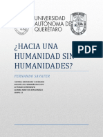Hacia Una Humanidad Sin Humanidades