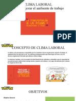 CLIMA LABORAL -