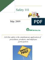 Safety - Job Site Safety 101