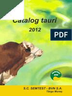 BVN_CatalogTauri2012