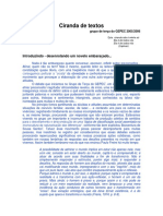 Ciranda de Textos  GEPEC/2010  grupo de terça