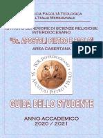 Issr Area Casertana Guida Dello Studente a.a. 2020 2021