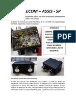 LICOTELECOM MANUAL DE INSTRUÇÕES ATM120 MINI