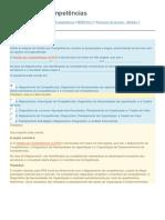 ENAP - Gestão Por Competências - Exercicio de Fixação - Modulo 3
