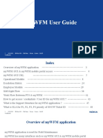MyWFM User Guide