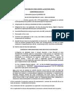 DOCUMENTOS PARA DCC OU DAE DE TAXA FLORESTAL MAIS DE 300 M³