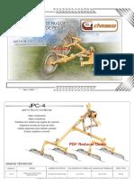 Manual e Catalogo de Pecas JPC 4