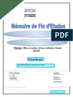 Table Des Matières Cloud1