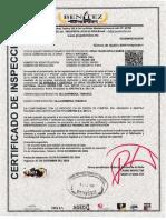 5 Certificado de Equipo Sp-313 2018-2019