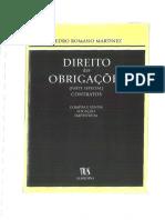 Dto Obrigacoes Contratos P Romano Martinez Pesquisavel