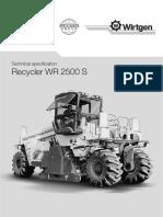 Data Sheets WR 2500 S en(c74)